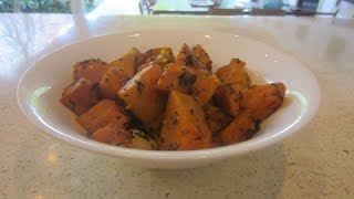 Gambar cover Roasted Pumpkin with Garlic & Basil Recipe, Ep75