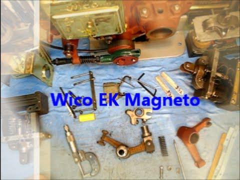 Wico EK Magneto Repair worn out parts / repair manual 11of