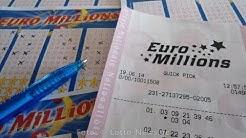 Euromillions Ziehung: Aktuelle Eurolotto Gewinnzahlen vom 30.6.2017