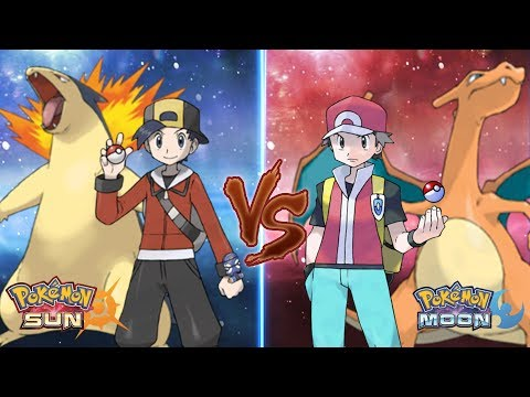 Pokemon Sun and Moon: Ethan Vs Red (Pokemon Battle Legend)