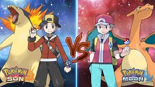 Pokemon Sun and Moon: Ethan Vs Red (Pokemon Battle Legend)