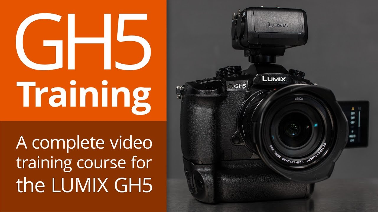 LUMIX GH5 Video Training by @PhotoJoseph preorder GH5training com