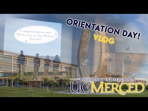 UC Merced Orientation! | vlog?