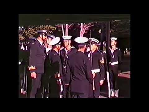 RAN GE42 Recruit School HMAS Cerberus Passing Out Parade