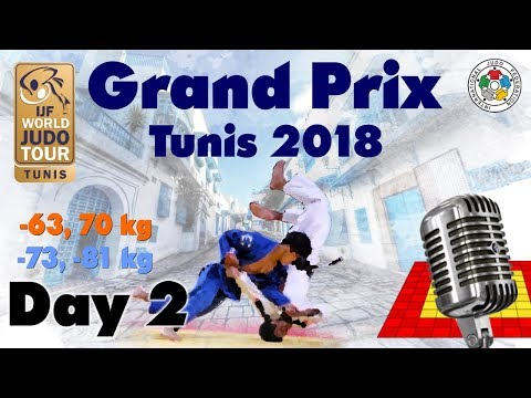 Judo Grand-Prix Tunis 2018: Day 2