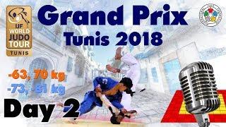 Judo Grand-Prix Tunis 2018: Day 2