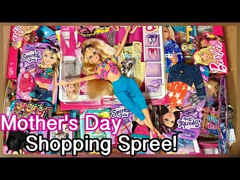 Mother's Day Shopping Spree ~ Doll Clothes ~ Barbie & Sparkle Girlz