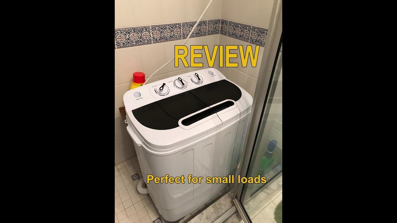 Portable Compact Mini Twin Tub Washing Machine Review ...