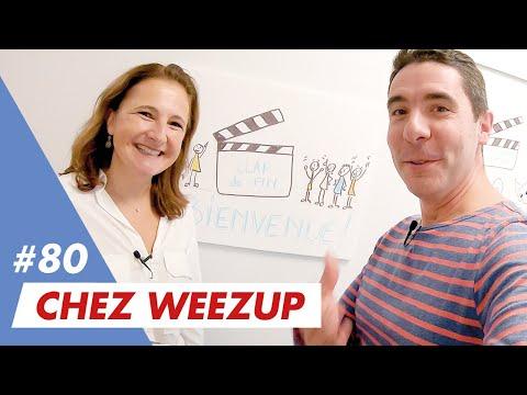 Le job d'Agnès chez Weezup ? Faciliter la coopération et la créativité en entreprise...