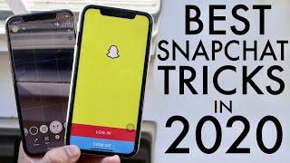 BEST SNAPCHAT Tricks & Tips In 2020! (Snapchat Secrets)