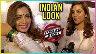 Arshi Khan's Hot INDIAN ATTIRE | Bigg Boss 11 | Exclusive Interview | TellyMasala