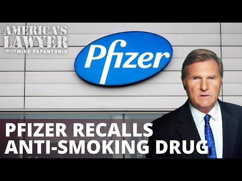 Pfizer Recalls Chantix Over Cancer Worries