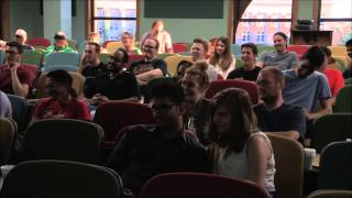Audience member gets Hand Job during University of MN comedy show.