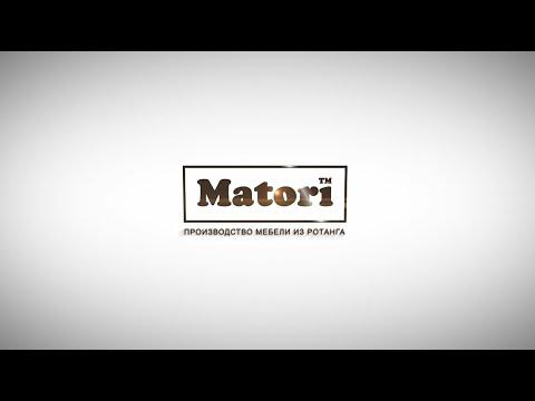 Видео-презентация Производителя Плетеной Уличной Мебели Matori [ Made In Ukraine ]