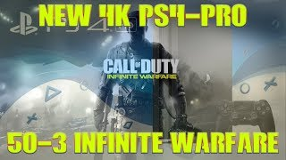 *50-3 FIRST DAY PLAYING PS4!!! | GOODBYE XBOX | HELLO PS4 PRO | INFINITE WARFARE