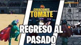 Regreso al Pasado - Fortnite Creaciones Tomate - Episodio 33