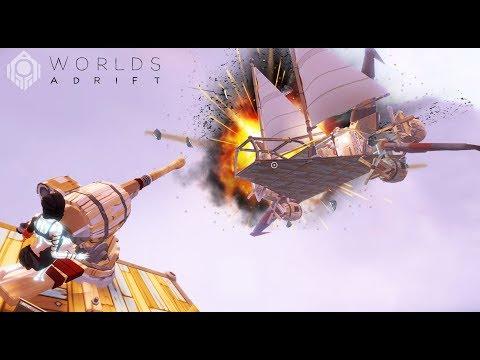 ME DESTRUYEN LA NAVE CON TODO!! 😱😭 - #3 Worlds Adrift - Nexxuz