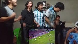 ECUADOR 1 VS ARGENTINA 3 | REACCIÓN A GOLES CON AMIGOS