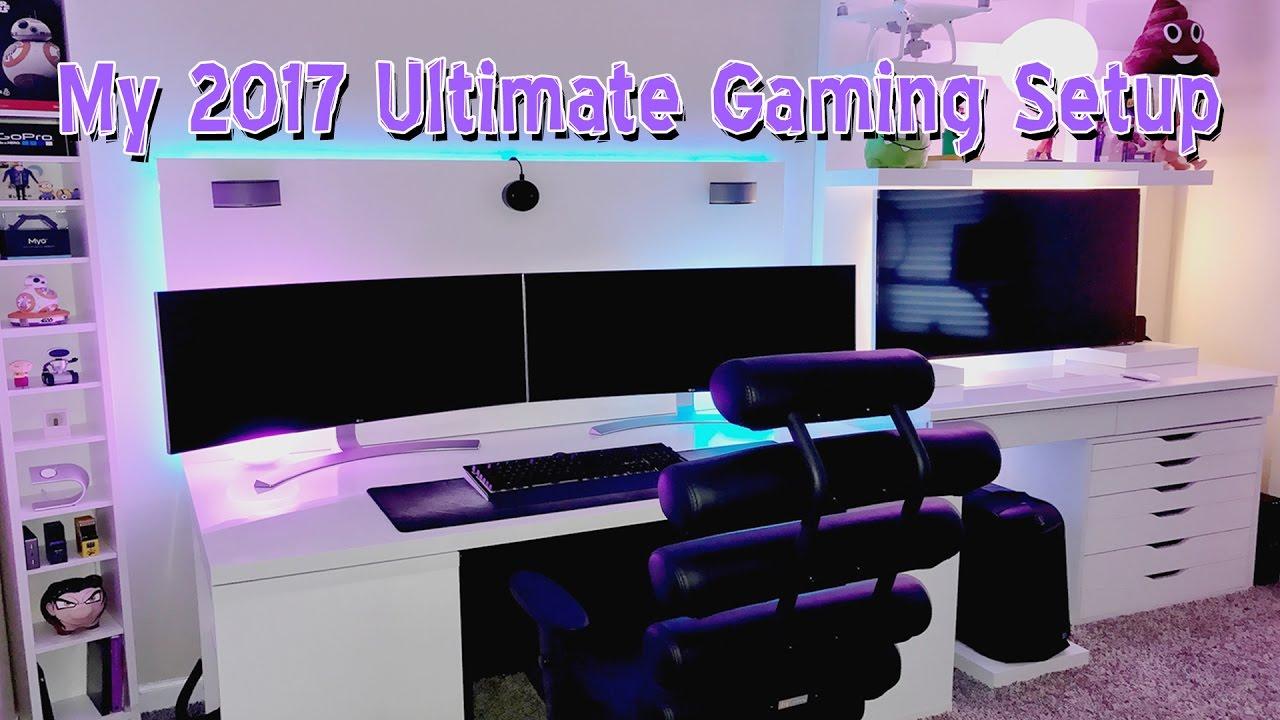 My 2017 ULTIMATE Gaming Setup  YouTube