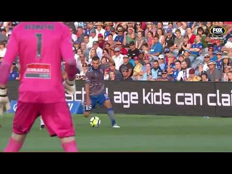 Newcastle Jets VS Sydney FC Round 22 2017/18