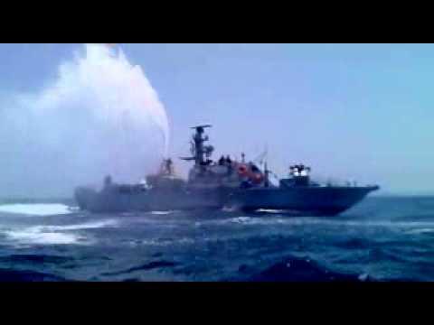 Israeli Navy Attack On CPSGaza boat