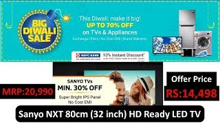 Sanyo NXT 80cm 32 inch HD Ready LED TV XT-32S7200H