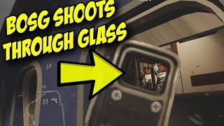Rainbow Six Siege BOSG12.2 can shoot through Plane glass windows Dokkaebi Tips & Tricks Guide