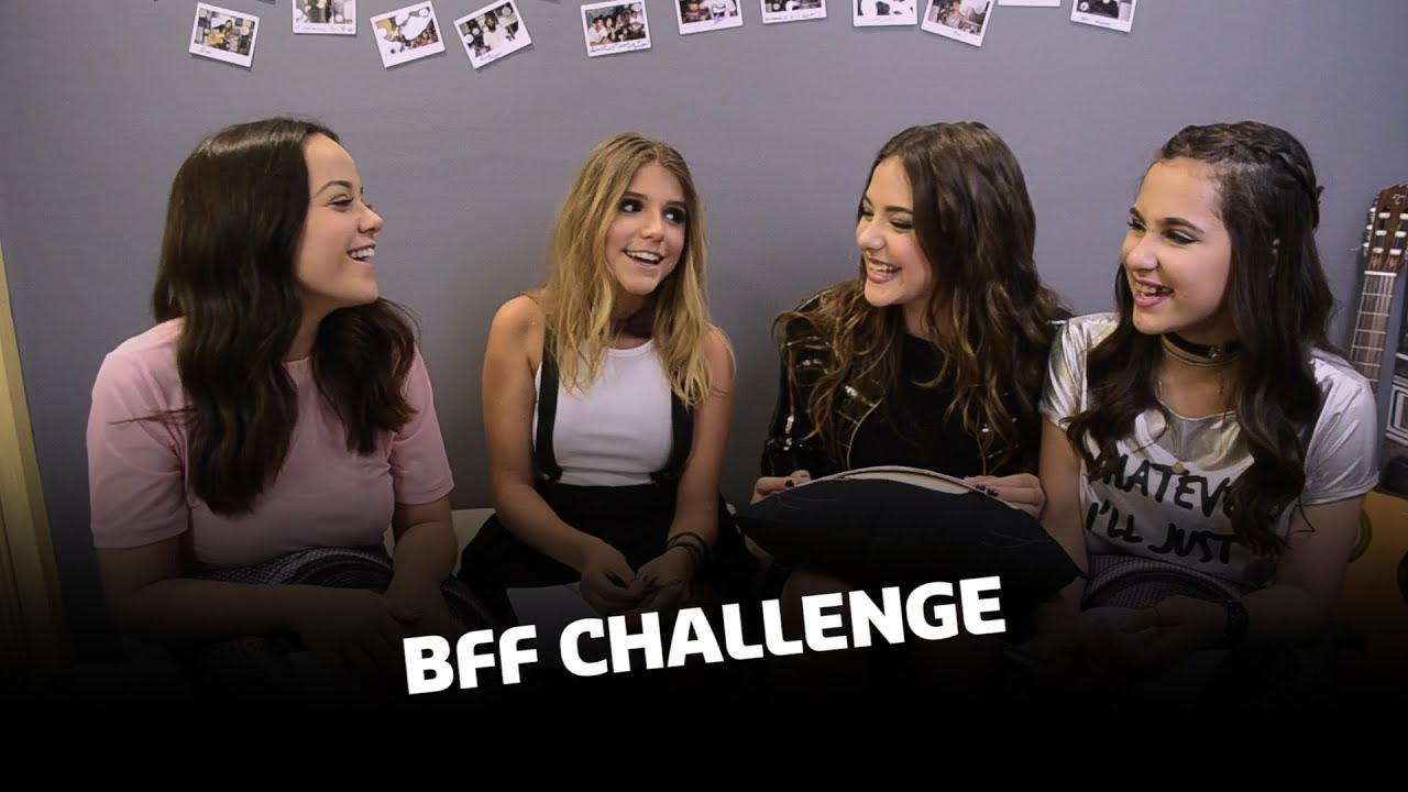BFF Challenge - Mariana Cerrone Feat. BFF Girls - YouTube