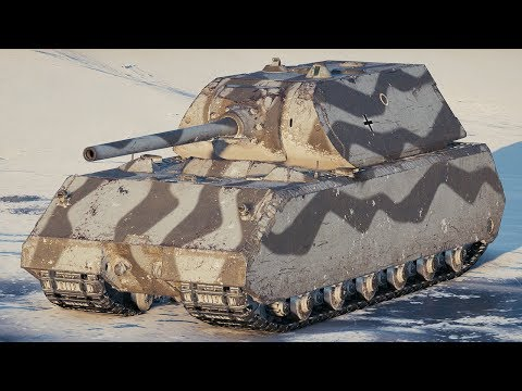World of Tanks Maus - 10 Kills 9,7K Damage thumbnail