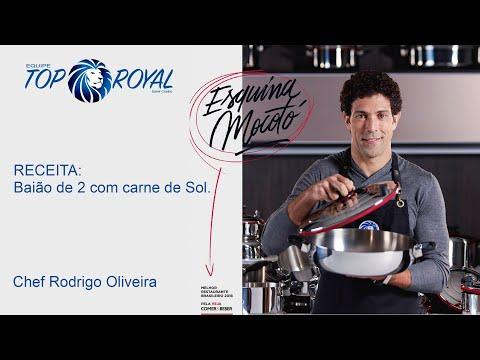Chef Rodrigo Oira - Receita: Baião de 2 com carne de Sol