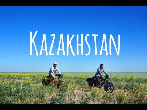 A Day on our Worldbicycletour #1 -  Against the wind in Kazakhstan