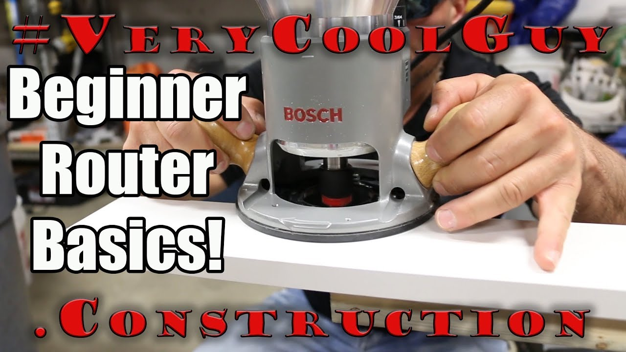 Best Way To Use A Woodworking Router For Beginners Youtube
