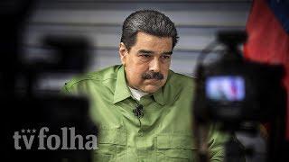 A oposição na Venezuela é pior do que Bolsonaro, afirma Maduro à Folha