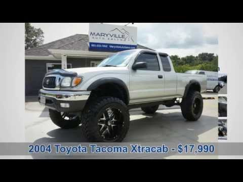 2004 toyota tacoma xtracab for sale in maryville tn youtube. Black Bedroom Furniture Sets. Home Design Ideas