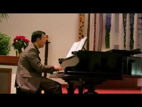 Cole Porter's Anything Goes - Piano Solo performed by Ben Chan Pianist 12/12