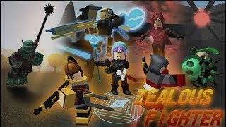 ZEALOUS FIGHTER GAMEPLAY AND BEGINNER TUTORIAL(-ish) | Roblox Zealous Fighter