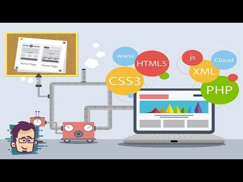 لغات تصميم المواقع