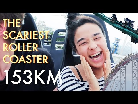 CRAZY ROLLER COASTER PARK IN JAPAN!