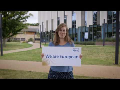 We are European | University of Kent staff