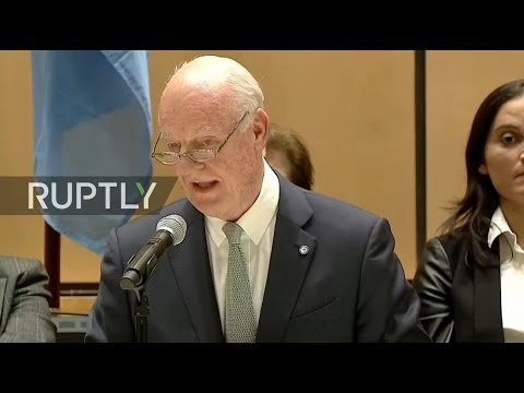 LIVE: New round of Syria peace talks begins in Geneva - Welcome address by De Mistura