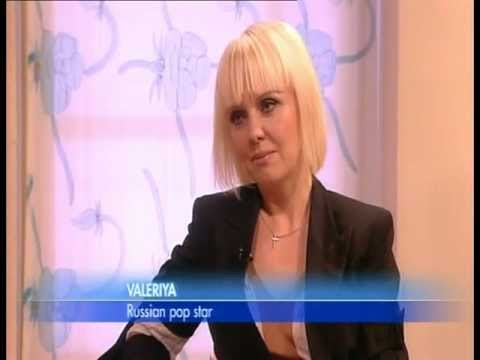 VALERIYA on GMTV with Lorraine Kelly
