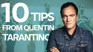 10 Screenwriting Tips fŗom Quentin Tarantino on how he wrote Pulp Fiction and Inglourious Basterds
