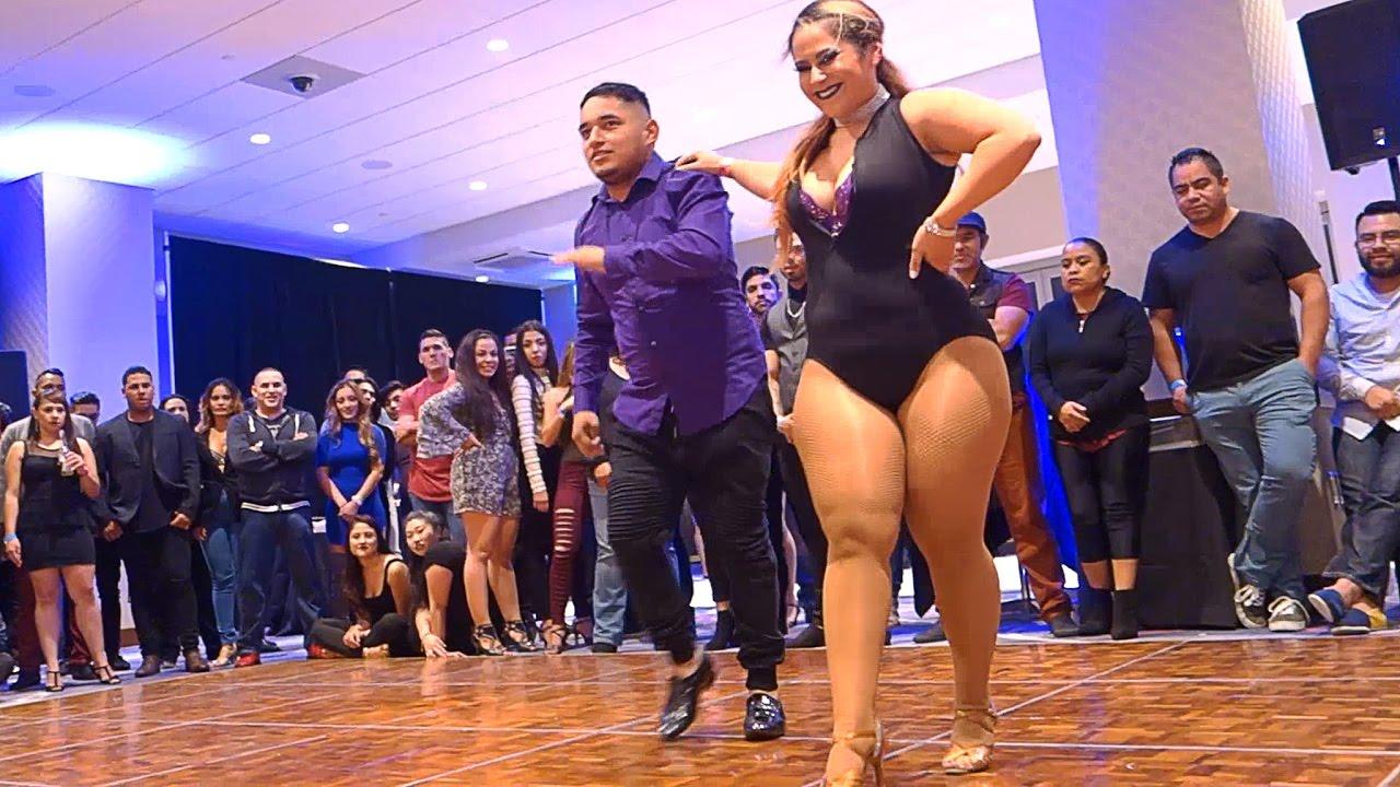 Carlos Amezcua and Karol Tatiana at the Bicycle Casino (Los Angeles) - YouTube