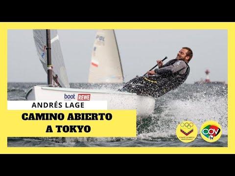 ☺ Andrés Lage recibió su credencial olímpica ☺