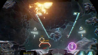 Ghost assassin plays vr eve Valkyrie