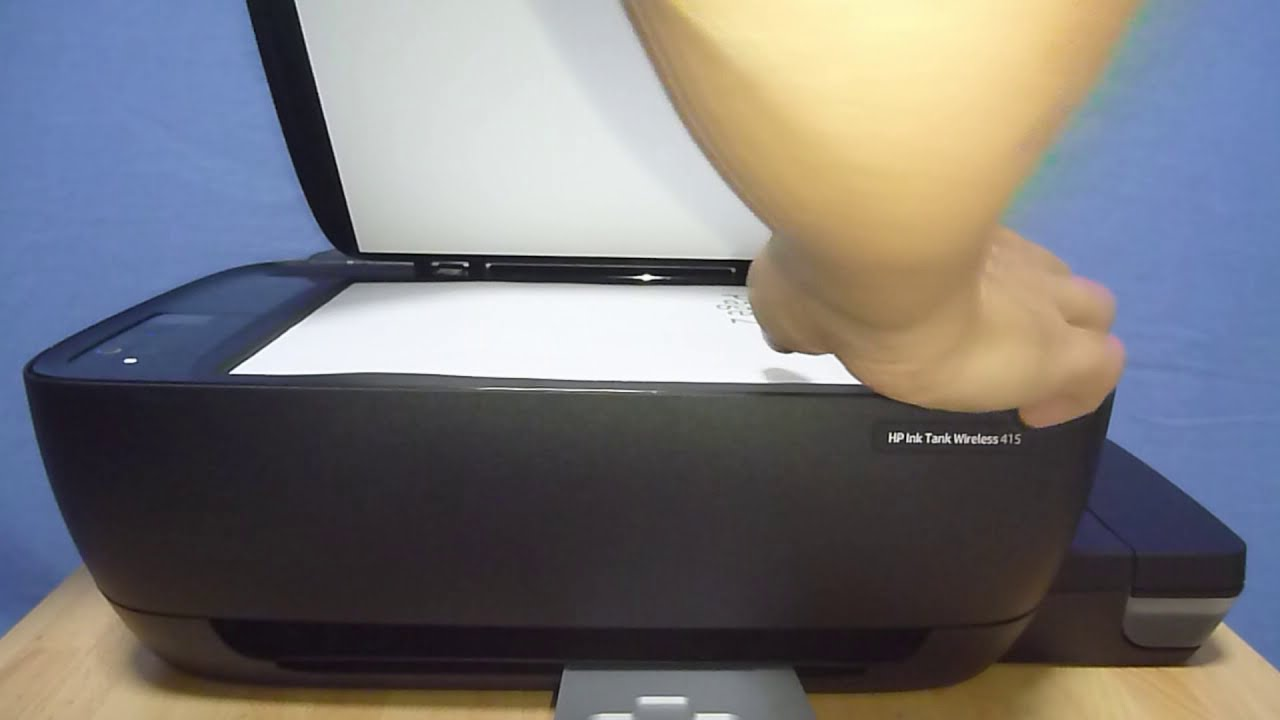 Hp Ink Tank Wireless 415 | 419 | 418 | 410 : Copy A 2 Sided Document   Technology Tips 03:01 HD