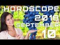 Today's Daily Horoscope 10 September 2018 Each Zodiac Signs