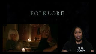 FOLKLORE Official Trailer   (2019) |Reaction