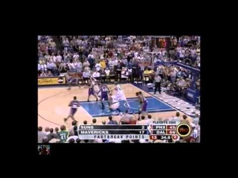 2005 NBA Playoffs WCSF Gm4 Suns Vs Mavericks {3}& Half time