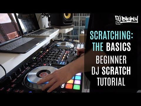 BEGINNER DJ SCRATCH TUTORIAL